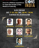 Once in a lifetime experience to meet the ICONS of the Medical Fraternity