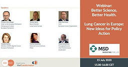 Lung Cancer in Europe: New Ideas for Policy Action