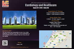 30th International Conference on  Cardiology and Healthcare: Beat Goes on, with a Wealthy Heart