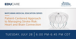 A Patient-Centered Approach to Managing Stroke Risk: Heart & Brain Connection