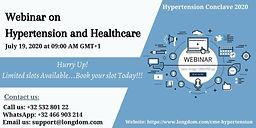 Webinar on Hypertension and Healthcare