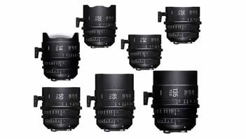 Sigma Cine FF Lens Set PL Mount