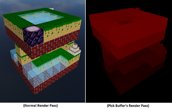 Pick Buffer - Render Pass of Tower.png