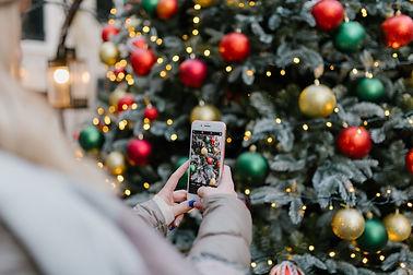 Christmas Tree at Santa's Workshop in North Pole, New York