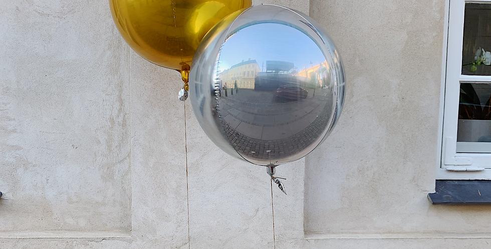 Rund folie ballon, Ø40 cm