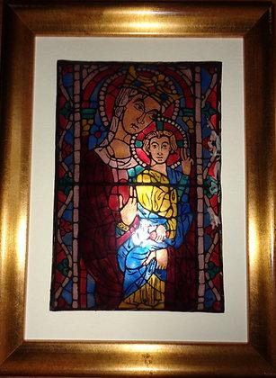 Vierge à l'enfant, Bourges (BE)