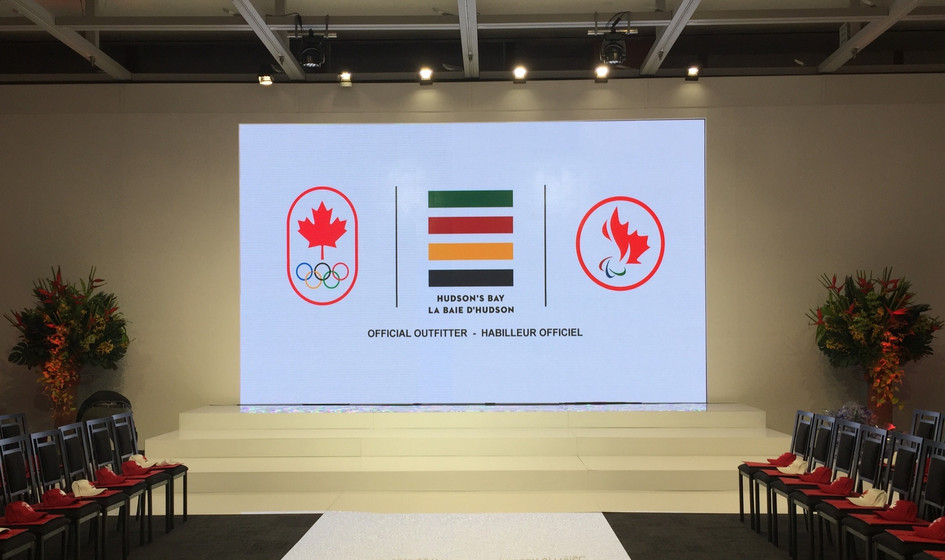 HBC Canadian Olympic Comitee Uniform Launch