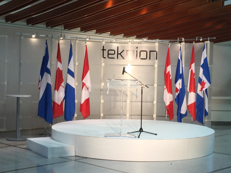 Teknion Furniture & City of Toronto Joint Press Conference