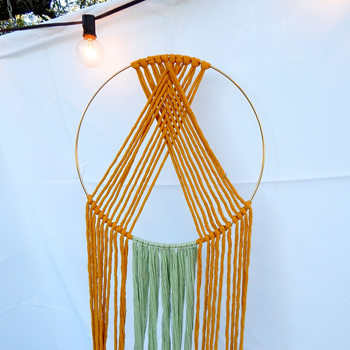 Duality: Circular Macrame feat. Choice of 2 Colors