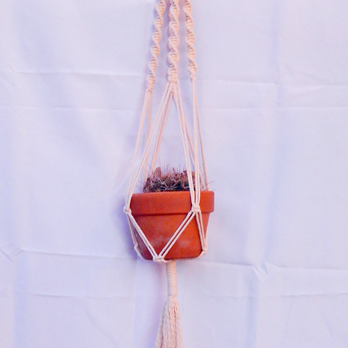 "Boho Plant Hanger for Pots 6"" - 10"""