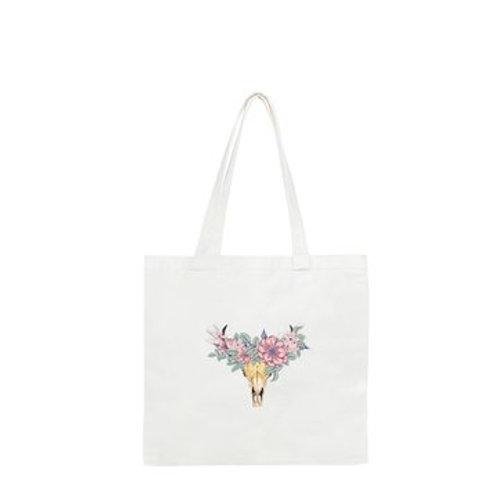 Wildflowers & Charolais Tote Bag