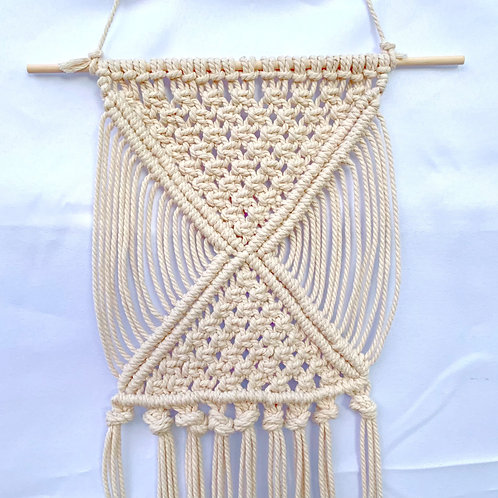 Mirror: Simple Boho Macrame