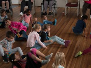 dansproject ouderen en kinderen