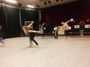 Tweede presentatieles dansexpressie!