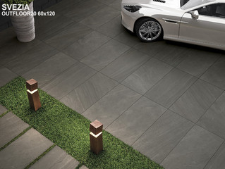 Outdoor porcelain pavers in Orlando