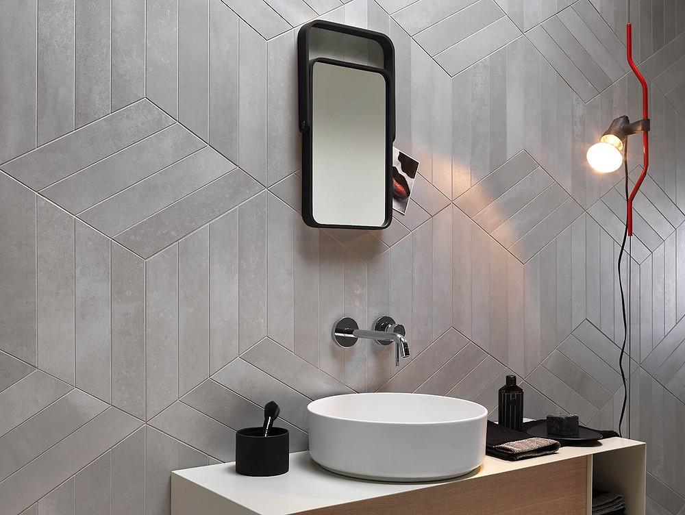 Italgraniti Metaline Bathroom Tile Orlando