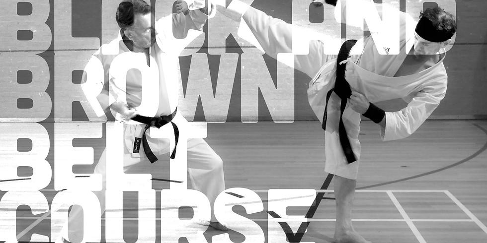 S.S.K.A. Black & Brown Belt Course