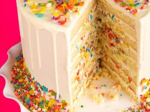 YBD Vegan Vanilla Cake