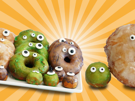 Halloween Potato Donuts
