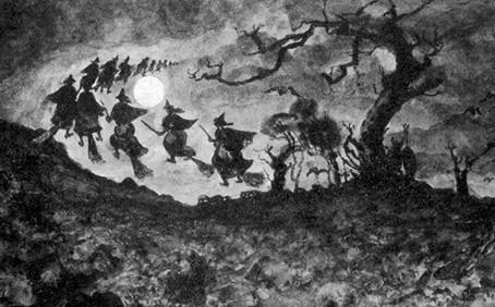 Le mythe de la sorcière ou le retour du féminin sacré