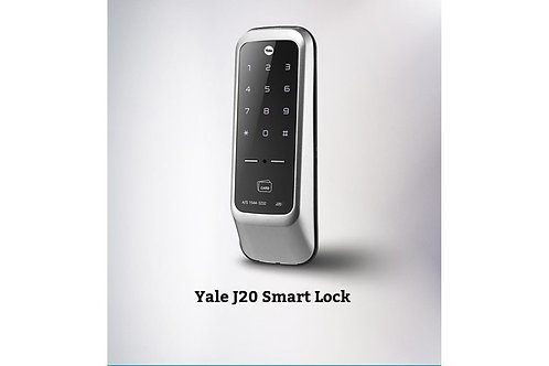 J20-A Series, Smart Lock, RFID Card, Mobile APP, Silver