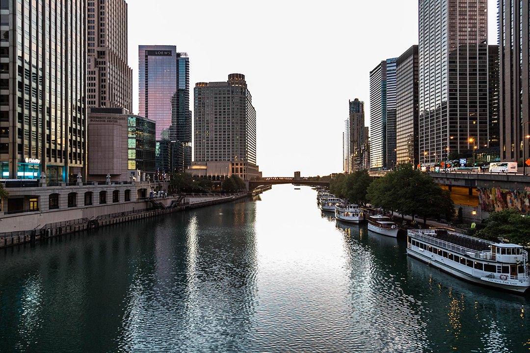 Chicago River Shot