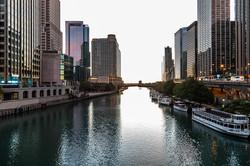 Chicago River Shot