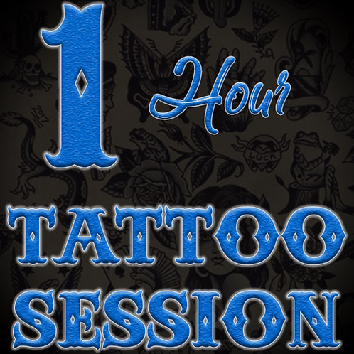 1 Hour Tattoo Session
