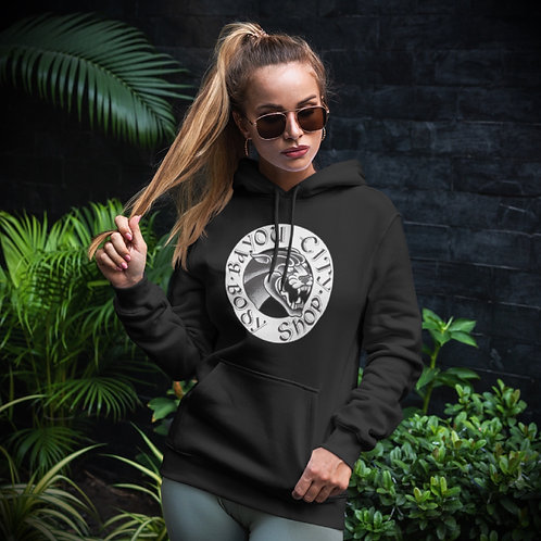 """""""Ludvic"""" Panther Hoodie (Unisex)- Black/White"""