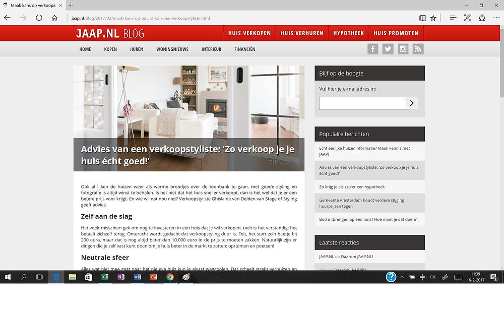 Blog Jaap.nl