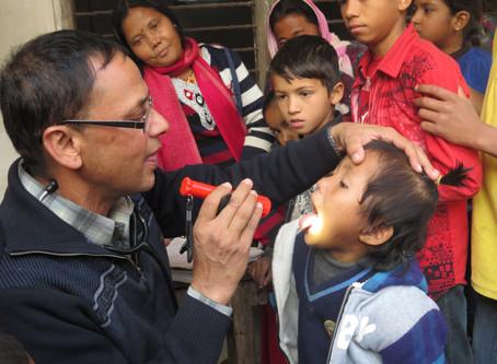 Health Camps in Vulnerable Communities