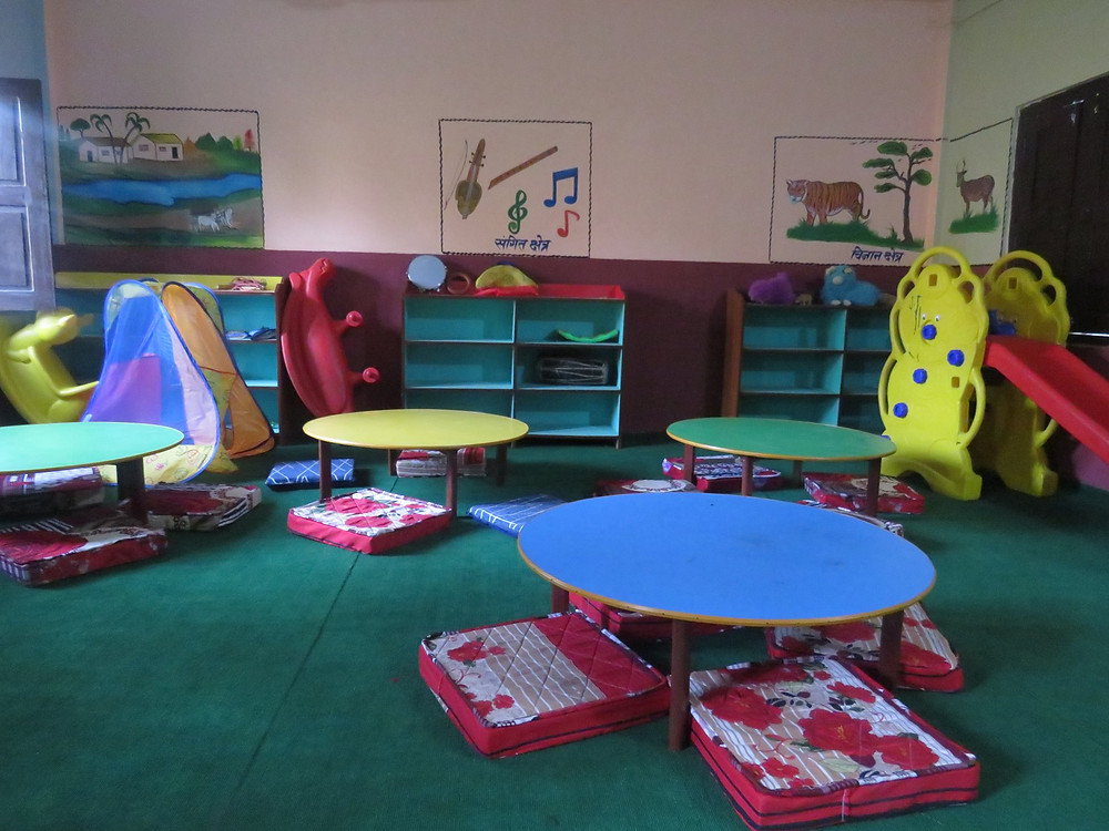 ECD Class Room at Ghyan Jyoti School, Dang