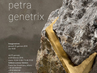 Petra Genetrix - personale di Mattia Bosco da Lorenzo Vatalaro.