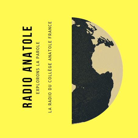 La web radio du collège Anatole France