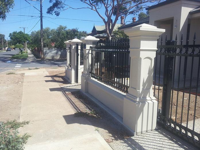 Fence pillars Adelaide