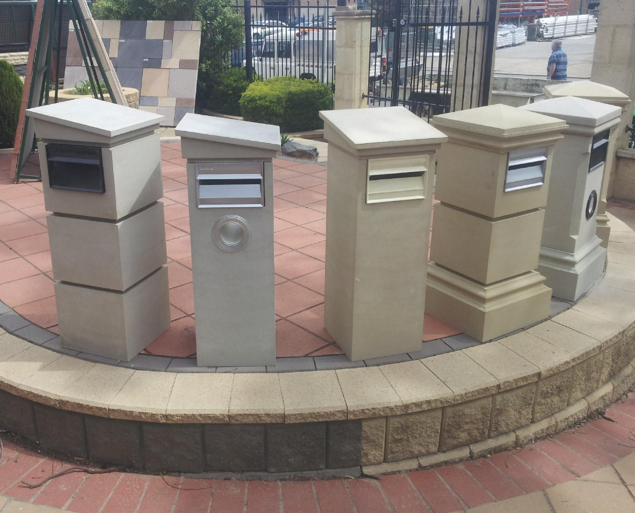 Stone fx letter boxes