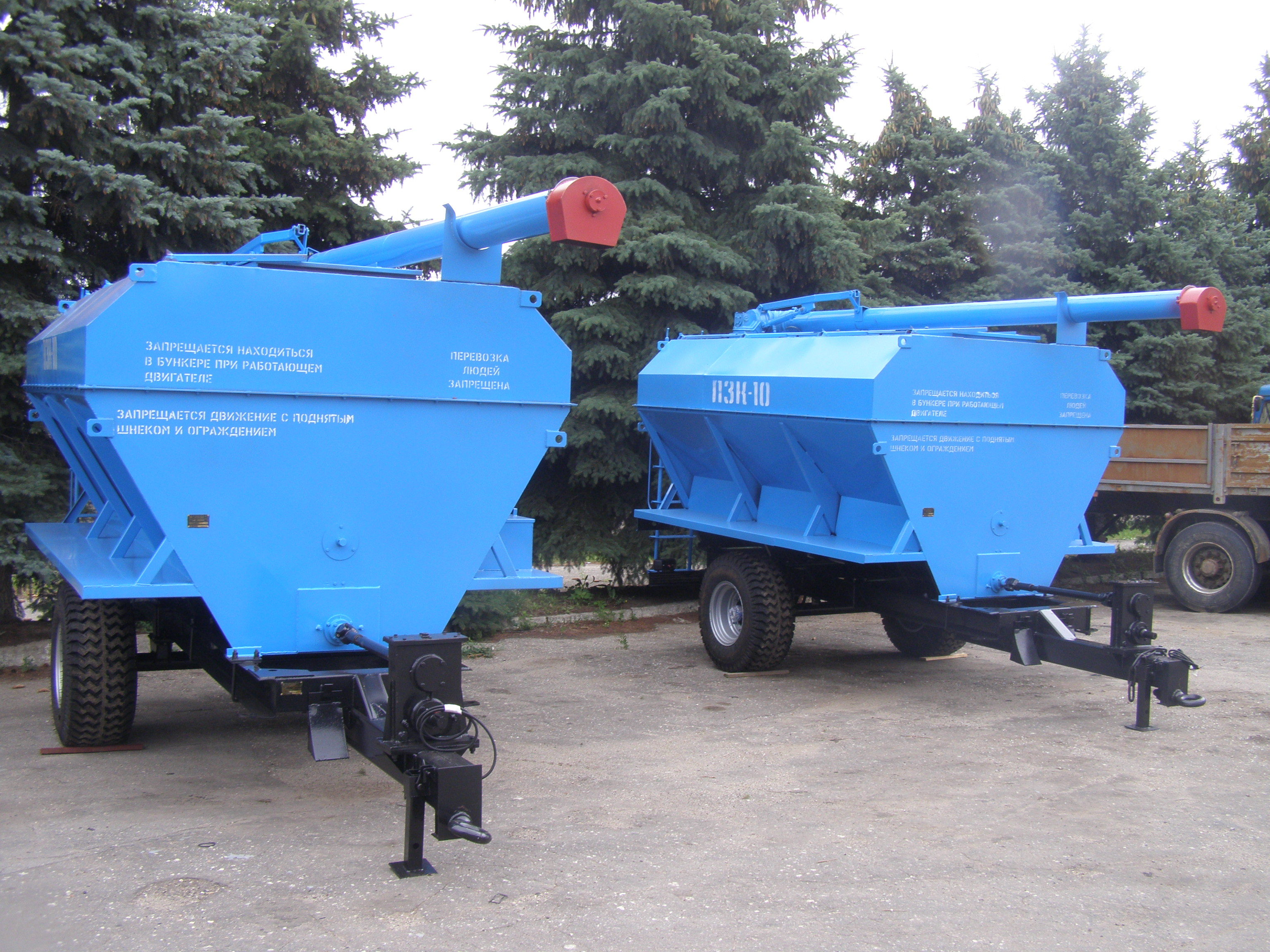 Загрузчик сухих кормов ПЗК-10