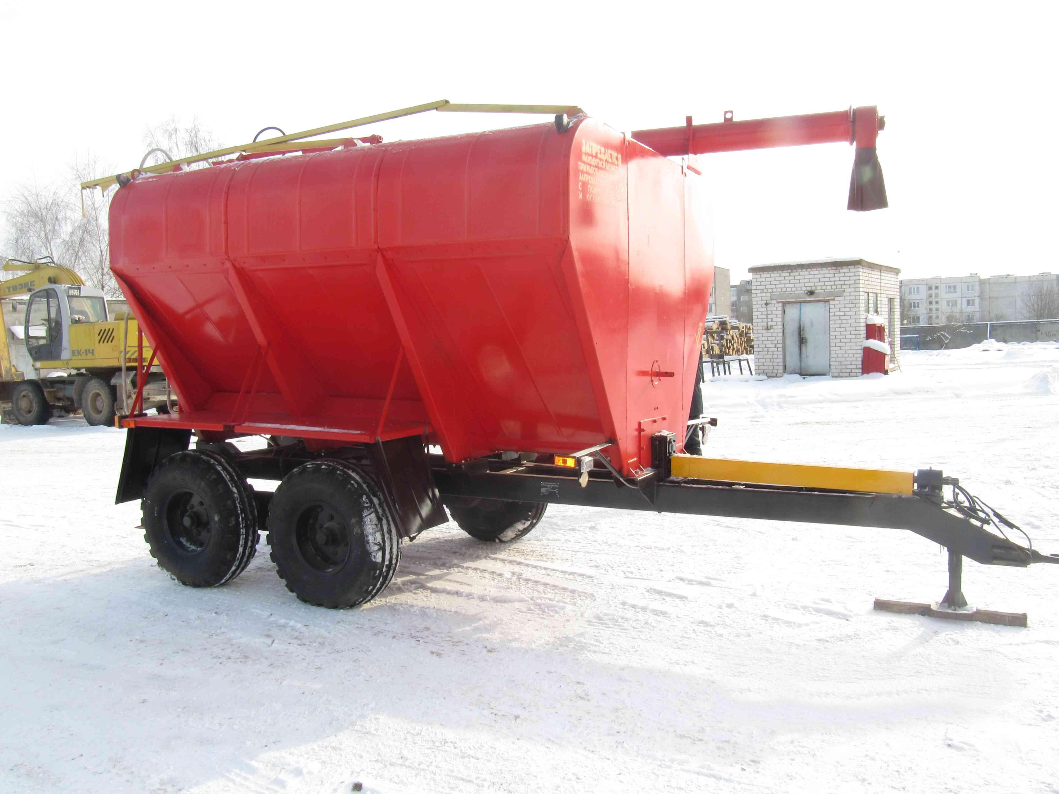 Загрузчик сухих кормов ЗСП-12