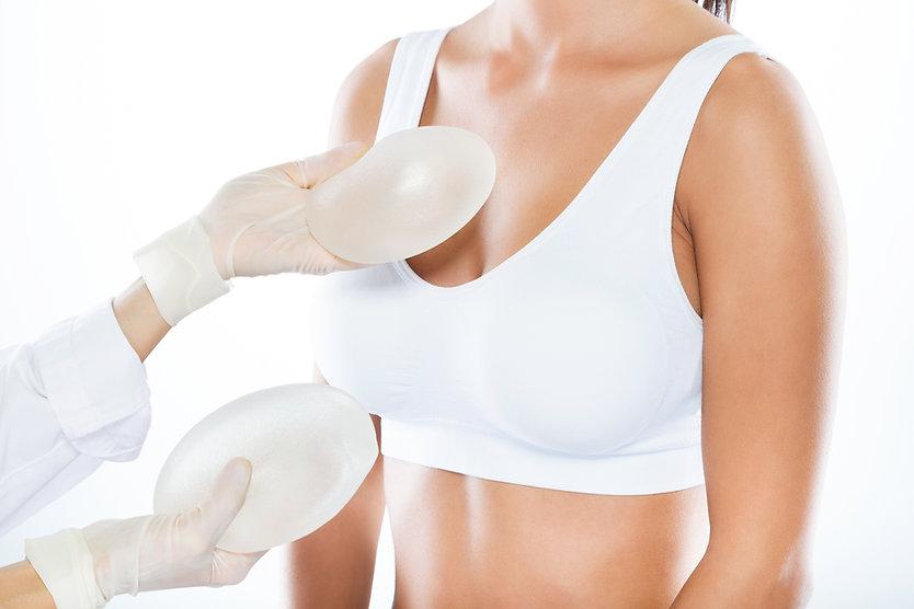 Silikon protez ile meme göğüs büyütme estetiği ameliyatı