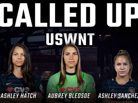 Bledsoe, Hatch, and Sanchez called up to USWNT's October Camp