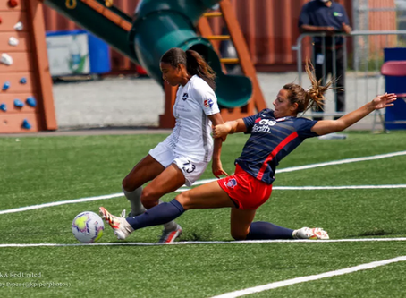 Spirit fall to Sky Blue in opening match of the NWSL's fall series