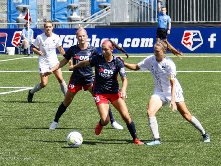Spirit conclude Fall Series with a win over Sky Blue