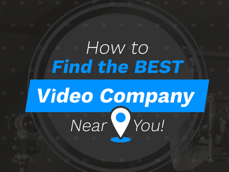 How to Find a Video Company Near Me  |  Video Production in Atlanta, GA