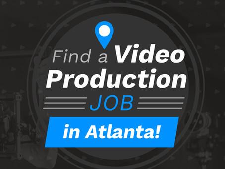 Video Production Jobs In Atlanta