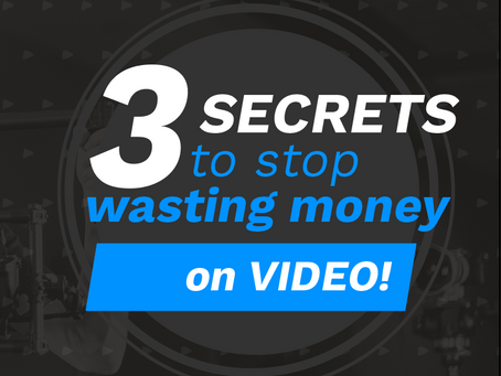 How to Stop WASTING MONEY on Video  |  Video Production in Atlanta, GA