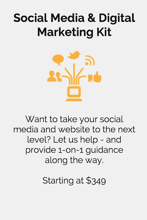 Social Media and Digital             Marketing Kit