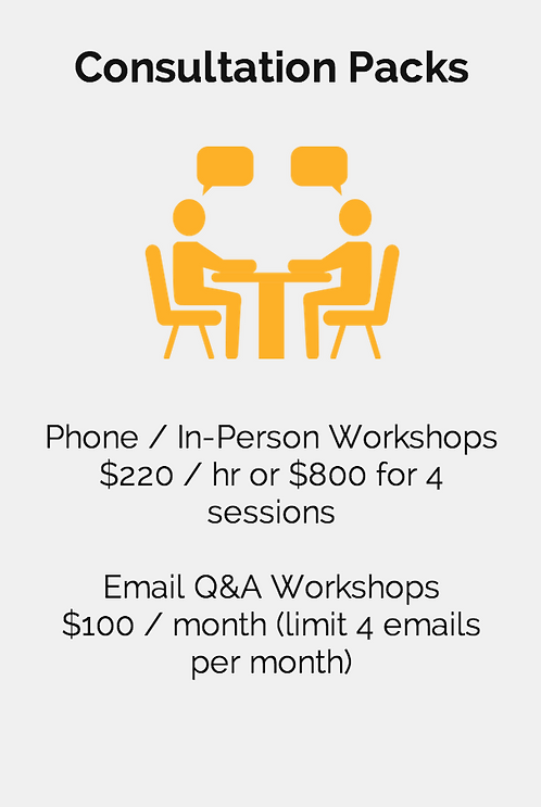 Marketing Workshops & Consultation