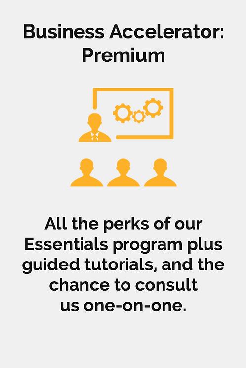 Business Accelerator: Premium (Workshops Incl.)