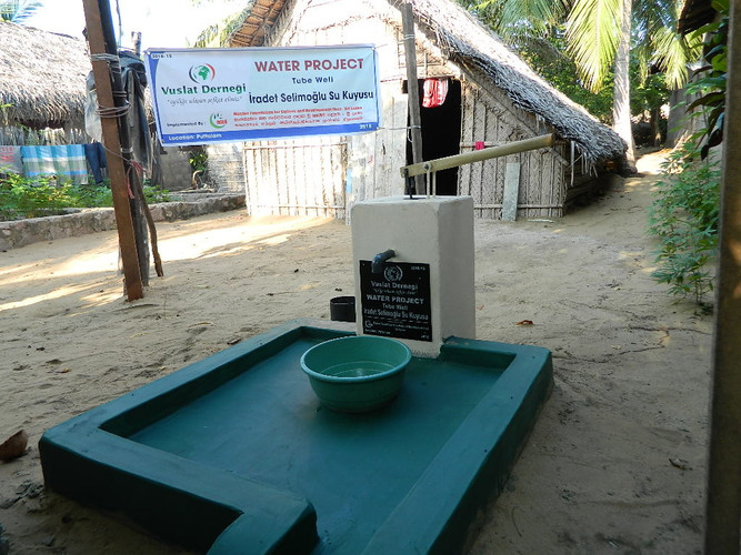 Tube wells for impoverished families