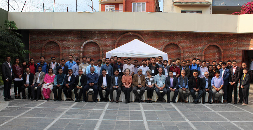 Group picture after Seminar on Aftershock Forecasting
